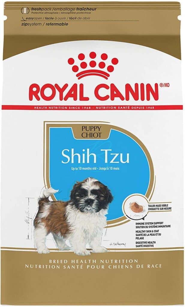 best dog food for shih tzu puppies